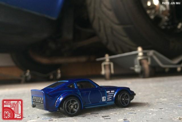 2016 Hot Wheels Nissan Fairlady Z - blue 03