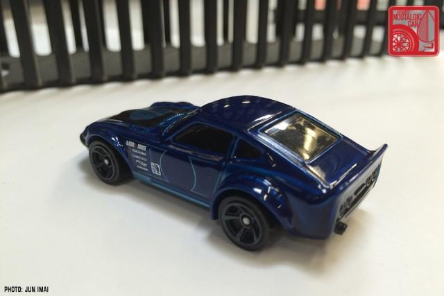 2016 Hot Wheels Nissan Fairlady Z - blue 09