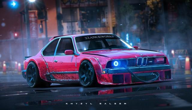 Khyzyl Saleem BMW 635CSi Bosozoku