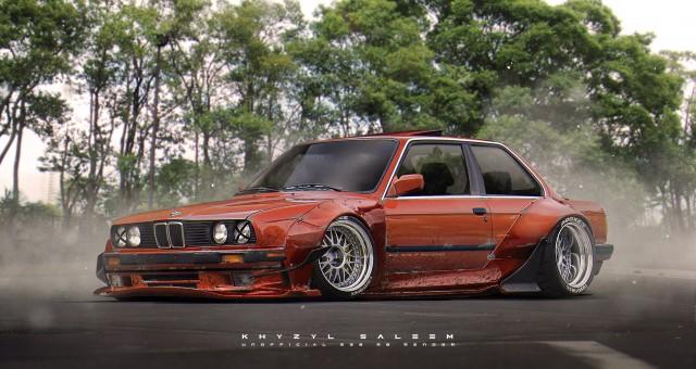 Khyzyl Saleem BMW E30