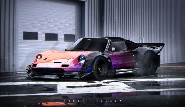Khyzyl Saleem Ferrari Dino