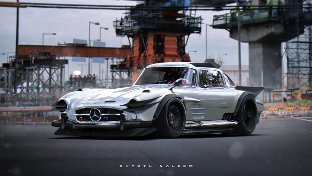 Khyzyl Saleem Mercedes 300SL