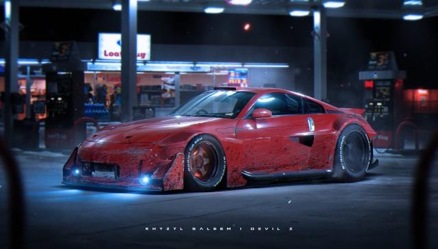 Khyzyl Saleem Nissan 350Z