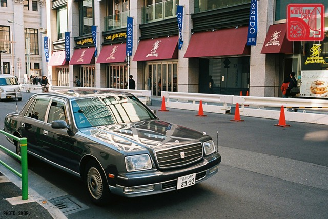 Parking in Japan 06 Yakuza - Toyota Century 01