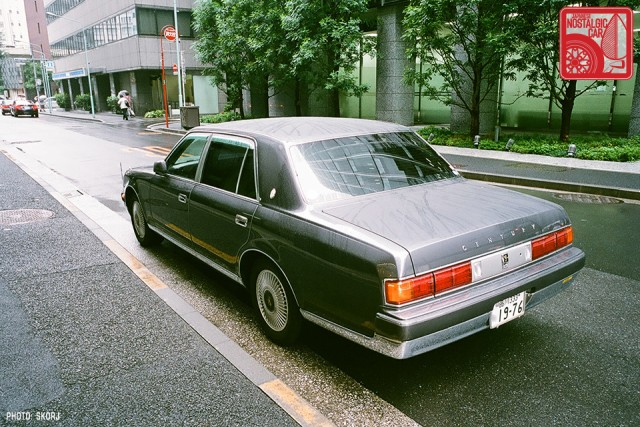Parking in Japan 06 Yakuza - Toyota Century 02
