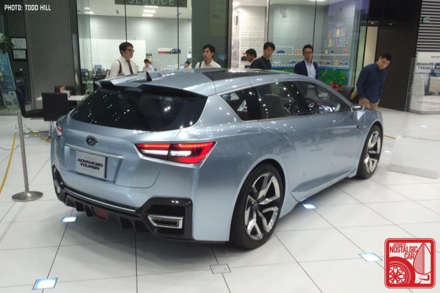 Subaru Active Tourer concept Ebisu HQ