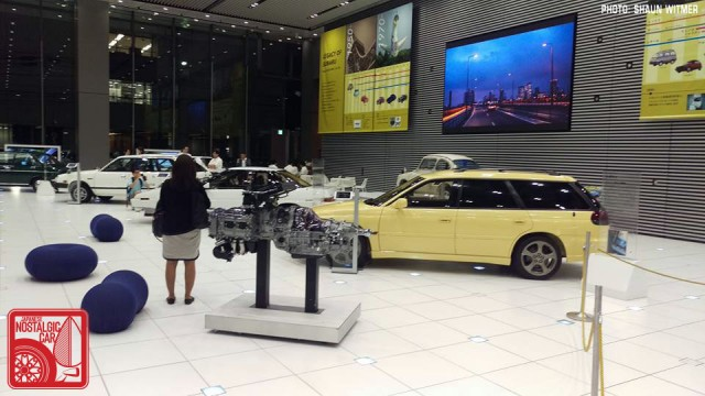 Subaru Ebisu HQ showroom 02
