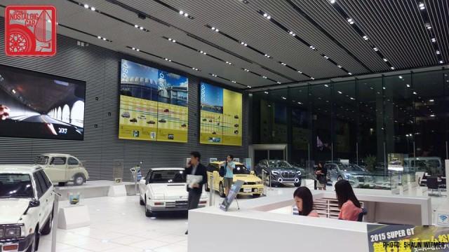 Subaru Ebisu HQ showroom 03
