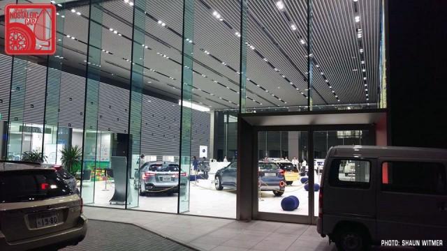 Subaru Ebisu HQ showroom 05