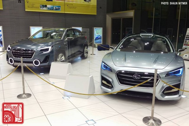 Subaru Viziv2 & Advanced Tourer concepts Ebisu HQ 01