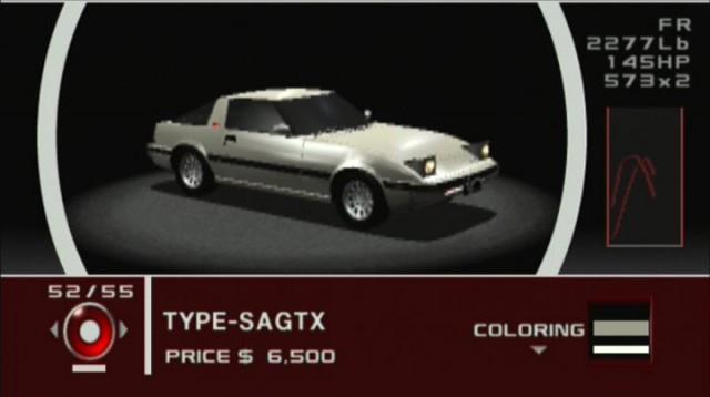 Tokyo Xtreme Racer Zero Mazda RX7 SA22