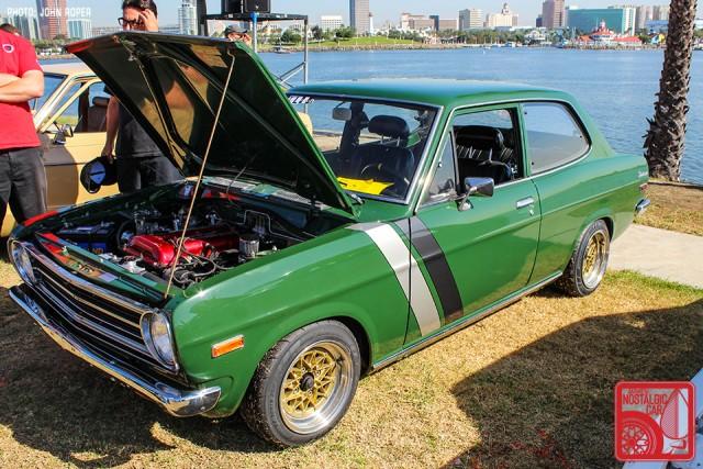 104-JR3916_Datsun1200-NissanSunnyB110 JCCS 2015 green
