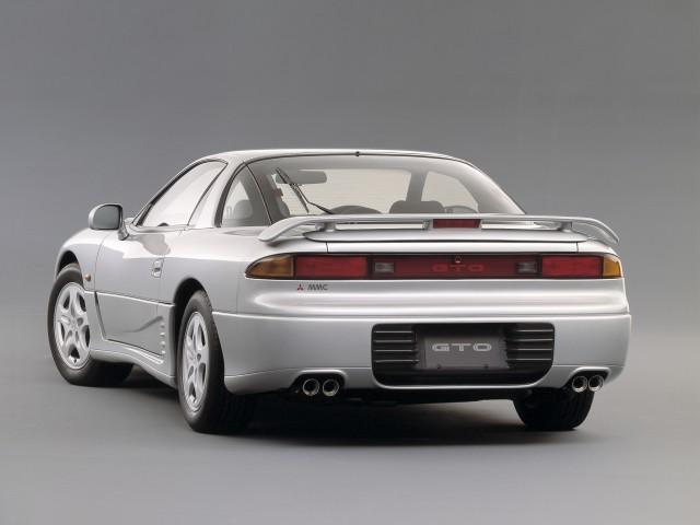 1990 Mitsubishi GTO rear