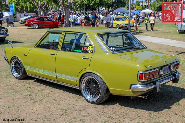 361-JR4040_Toyota CoronaT80 JCCS 2015 rear