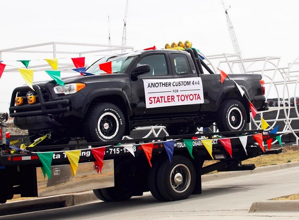 Back to the Future Toyota Tacoma Dallas