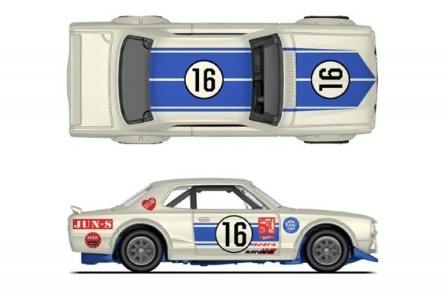 Hot Wheels Nissan Skyline HT 2000GT-X Hakosuka - Japan Historics