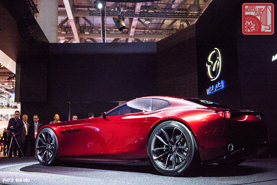 Tokyo Motor Show: Rotary-powered Mazda RX-Vision concept