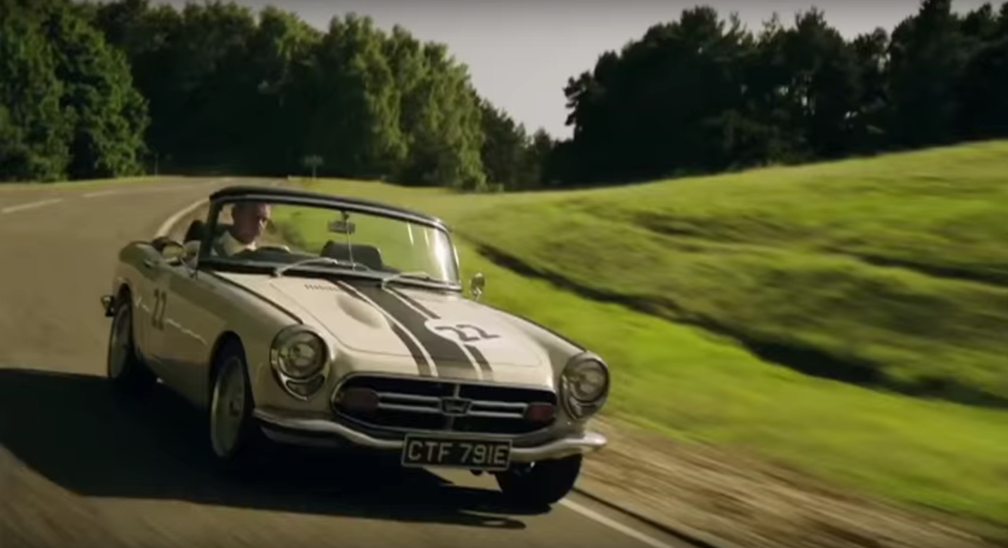 VIDEO: Jenson Button Drives Honda S800 In Johnnie Walker Ad | Japanese  Nostalgic Car