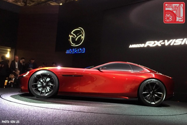 Mazda RX-Vision Concept rotary 2015 Tokyo Motor Show 02