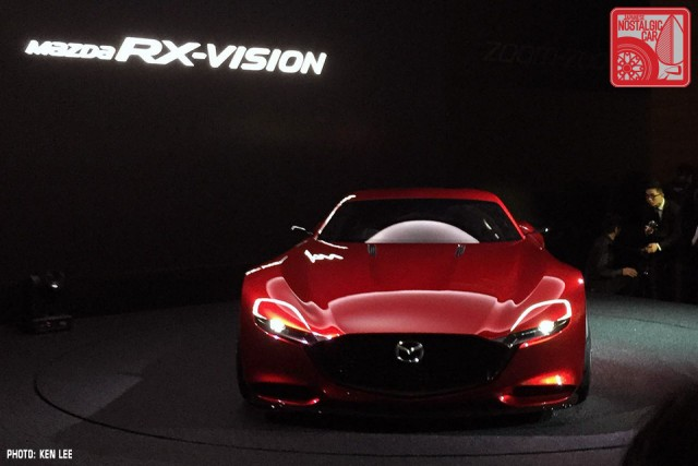Mazda RX-Vision Concept rotary 2015 Tokyo Motor Show 03