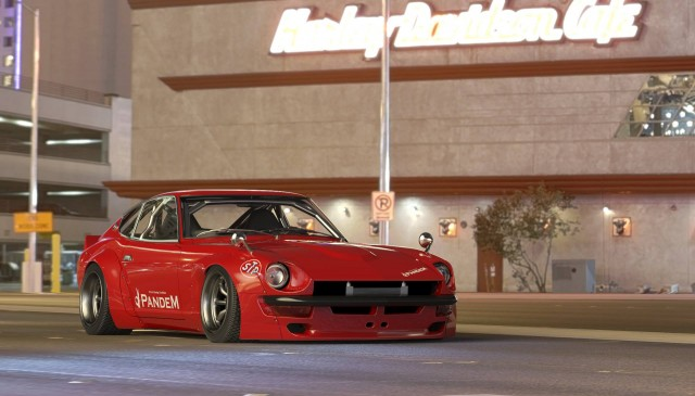 Rocket Bunny Pandem S30 Z body kit