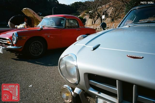 27_Honda S800 & Toyota Sports 800