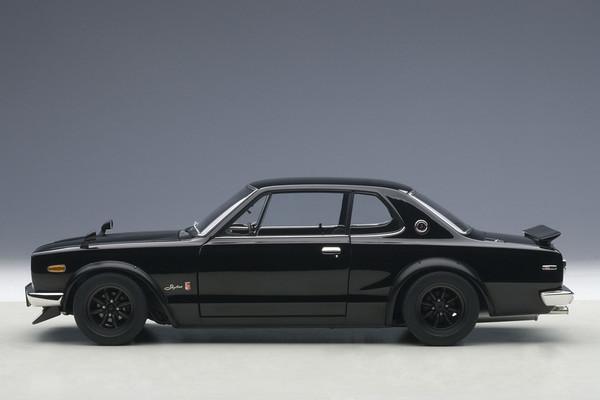 Autoart Nissan Skyline GT-R Hakosuka KPGC10 - black 03