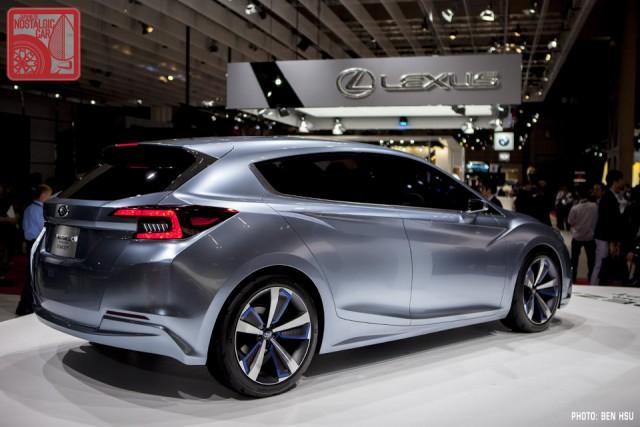 Subaru Impreza 5Door Concept 12