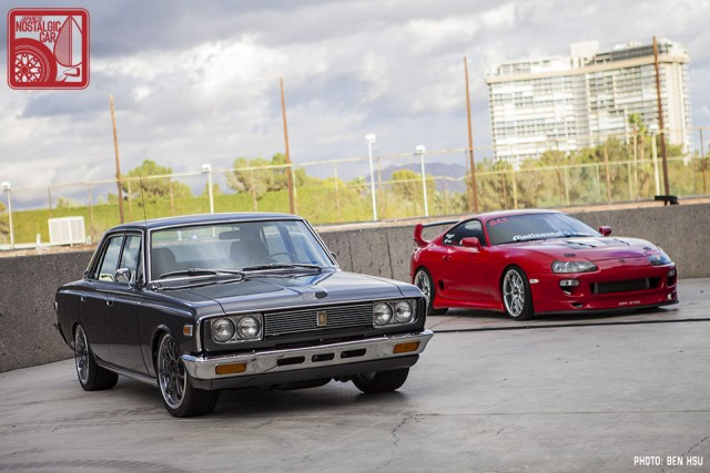 Toyota Crown S50 & Supra A80 01