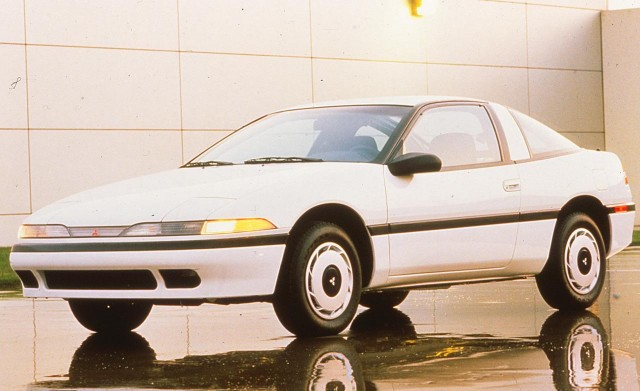 1990 Mitsubishi Eclipse Stock Photo
