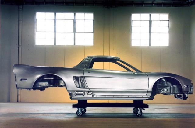 Honda Acura NSX aluminum body 02