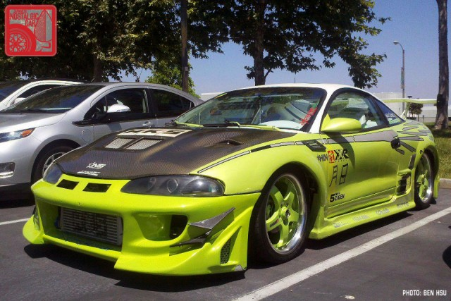 25 Year Club Mitsubishi Eclipse Japanese Nostalgic Car