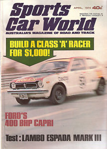 Sports Car World 1974-04 Honda Civic