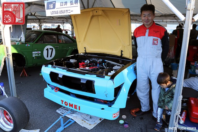 3369 NISMOFestival2015 Nissan Sunny B110 TS Cup