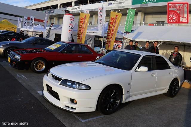 3414 NISMOFestival2015 Nissan Skyline R33 Sedan