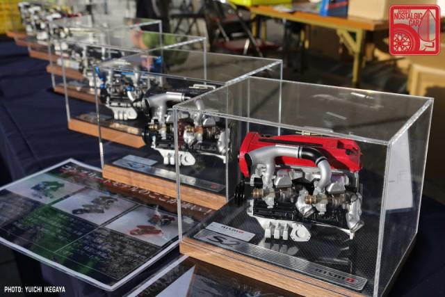 3437 NISMOFestival2015 Nissan Skyline FJ20ET scale model