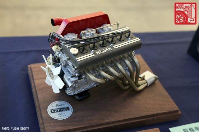 3462 NISMOFestival2015 Nissan Skyline S20 Kusaka Engineering scale model