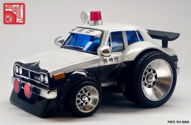 06_Gunze Nissan Skyline C10 Hakosuka Patrol Car kit by Ryu Asada