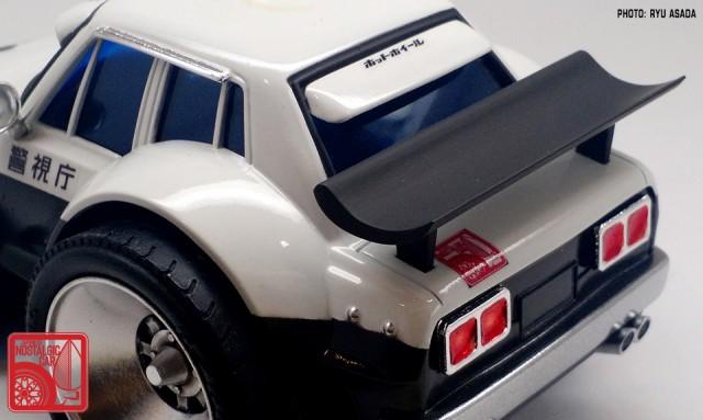 07_Gunze Nissan Skyline C10 Hakosuka Patrol Car kit by Ryu Asada