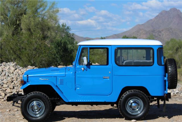 1976 Toyota Land Cruiser FJ40 Barrett-Jackson Scottsdale 2016 2