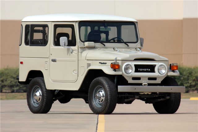 1978 Toyota Land Cruiser Barret-Jackson Scottsdale 2016