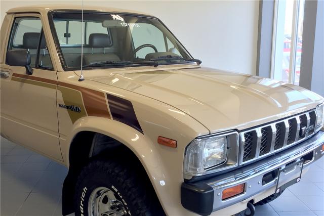 1982 Toyota Pickup 4x4 Hilux Barrett-Jackson Scottsdale 2016 2