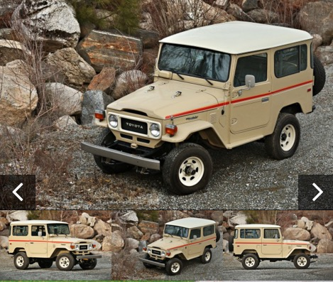 1983 Toytoa Land Cruiser FJ40 Gooding Scottsdale 2016