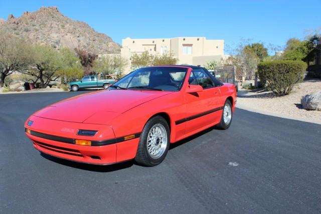 1988 Mazda RX-7 Converible Russo & Steele Scottsdale 2016