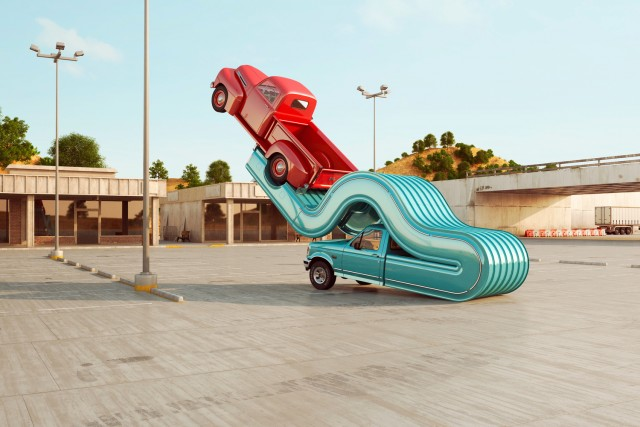 Chris Labrooy Auto Elasticity Ford pickup