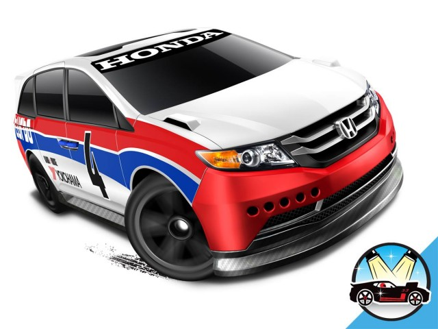 Honda Odyssey Hot Wheels