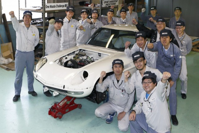 Mazda Cosmo Sport Hiroshima high school restoration 20