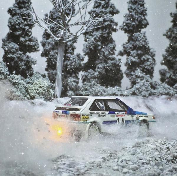 Takupon0816 Mazda Familia 323 Gtx 1986 Monte Carlo Rally