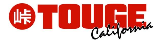 Touge California Logo