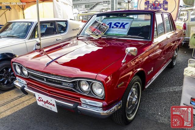 117-SM0666_Nissan Skyline Hakosuka C10